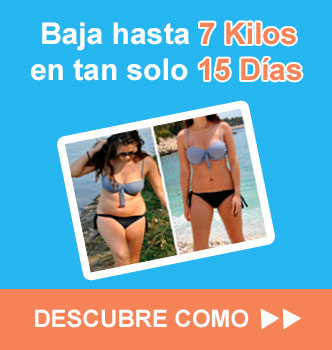 baja de peso en 15 dias