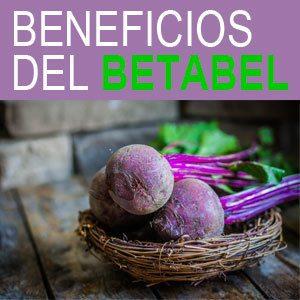 beneficios del betabel o remolacha