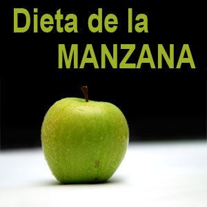 dieta manzana para bajar de peso