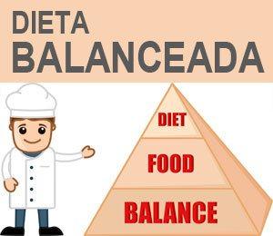 dieta balanceada y saludable